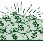 Cash in Bags