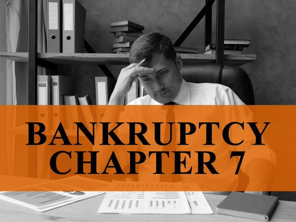 Chapter 7 Bankruptcy Attorney Filling Bankruptcy