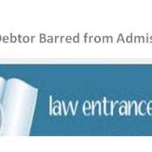 Bar Denied for Lawyer