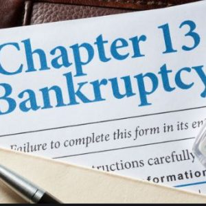 Chapter 13 Bankruptcy Attorney Filling Bankruptcy