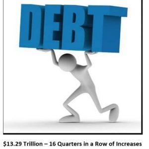 Debt 13 Trillion