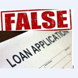 False Loan Application
