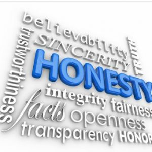 Honest and Integrity