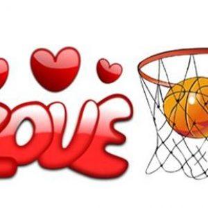 Love and Basket Ball Hoop