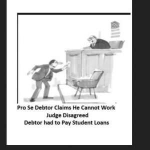 Debtor Student Loans