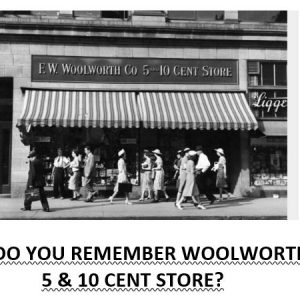 Store Bankruptcy Woolworth