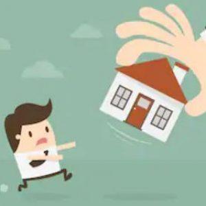 home being taken away